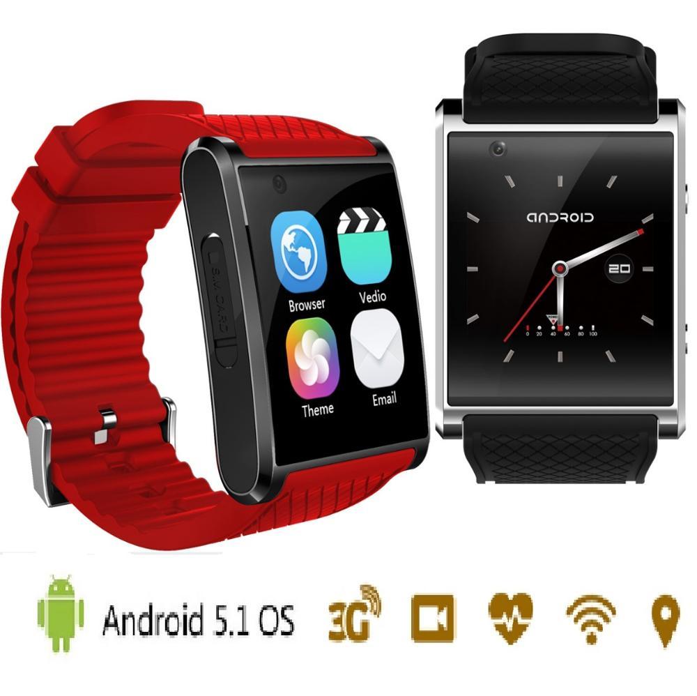 ELECTSHONG android 5.1 smart watch for Apple WiFi watch with pedometer camera GPS men women watch for xiaomi huawei Iphone