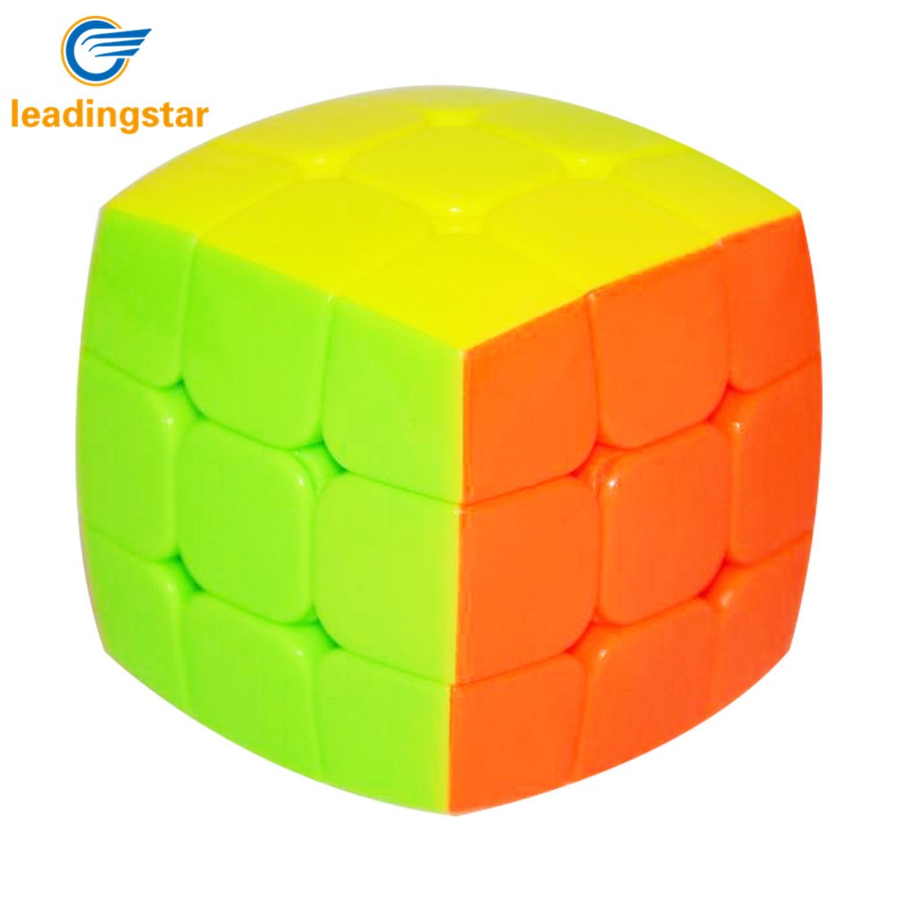 leadingstar 3x3 pillow cube toys round bread magic cube 3x3x3 speed puzzles educational toys special toys zk35