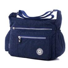 Nylon Women Messenger Bags Leisure Fashion Fresh luxury handbags women tote designer Sac A Main Bolsa Purse Girls Shoulder Bags