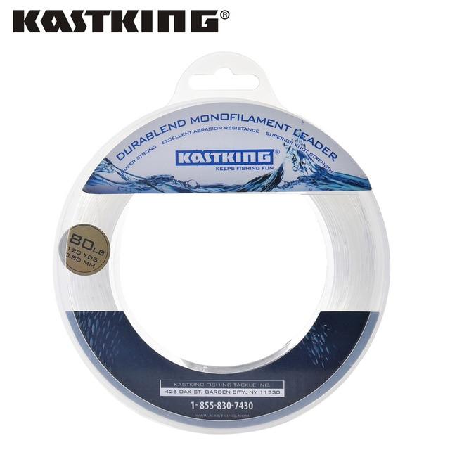 KastKing 20-200LB 110 м 0.40-1.40 мм нейлон Рыбная ловля линия 2017 Горячие супер сильным мононити нейлона линия хорошо для лодка Рыбная ловля