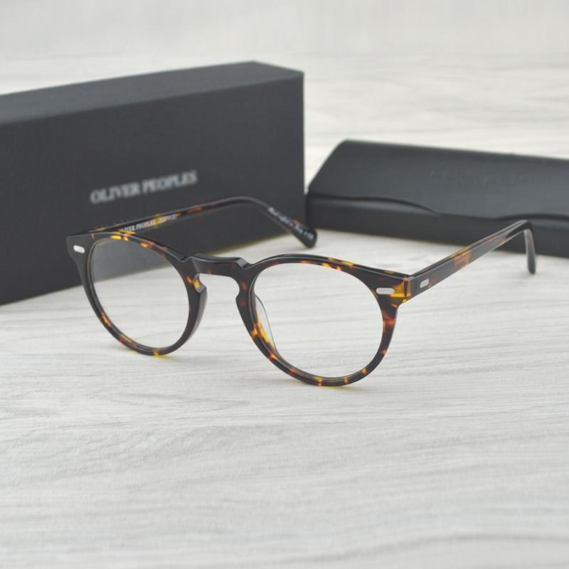 Chashma Vintage Optical Glasses Frame  Acetate OV5186 Eyeglasses Oliver Reading Glasses Women And Men Eyewear Frames