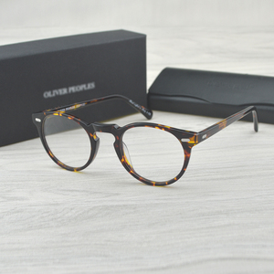 Image 1 - Chashma Vintage Optik Gözlük Çerçevesi Asetat OV5186 Gözlük Oliver okuma gözlüğü Kadınlar ve Erkekler Gözlük Çerçeveleri