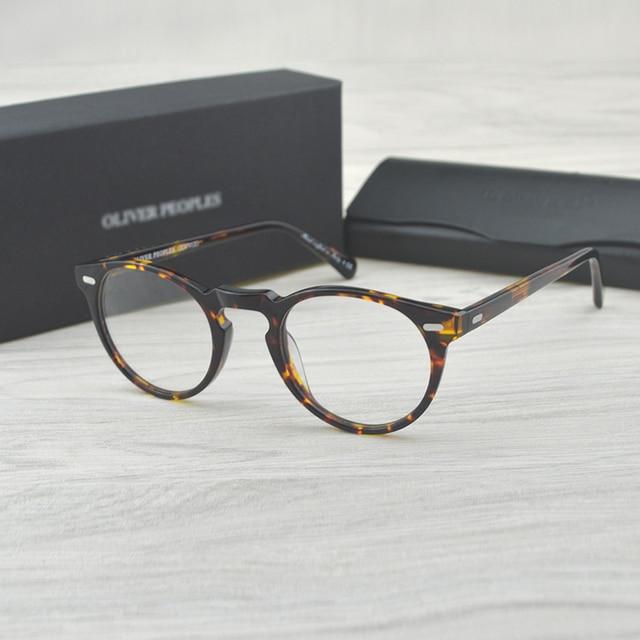 チャシュマヴィンテージ光学ガラスフレームアセテート OV5186 眼鏡オリバー老眼鏡女性と男性の眼鏡フレーム