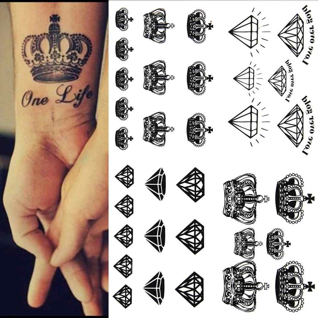 Como Escolher Tatuagem Homem 2019 novos adolescentes homens mulheres à prova dwaterproof