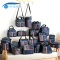 Изолированная герметичная ланч-сумка Hylhexyr для взрослых, Детская сумка-тоут, стильная сумка-холодильник для офиса, школы, пикника на молнии