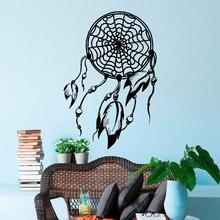 Muurstickers boho dream catcher decals bohemian beddengoed woonkamer kunstenaar residence decoratie ZM06