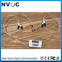 1*4 CCWDM ミニ CWDM Mux/Demux モジュールと 25 センチメートル LC/UPC (1470,1510 、 1530 、 1490nm) コネクタと FC/UPC COM ポート、 4ch CCWDM Mux Demux