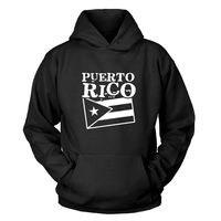 sweatshirt Puerto Rico Kapuzenpullover hoodie Round Neck Best Selling Male Natural Cotton Shirt TOP TEE