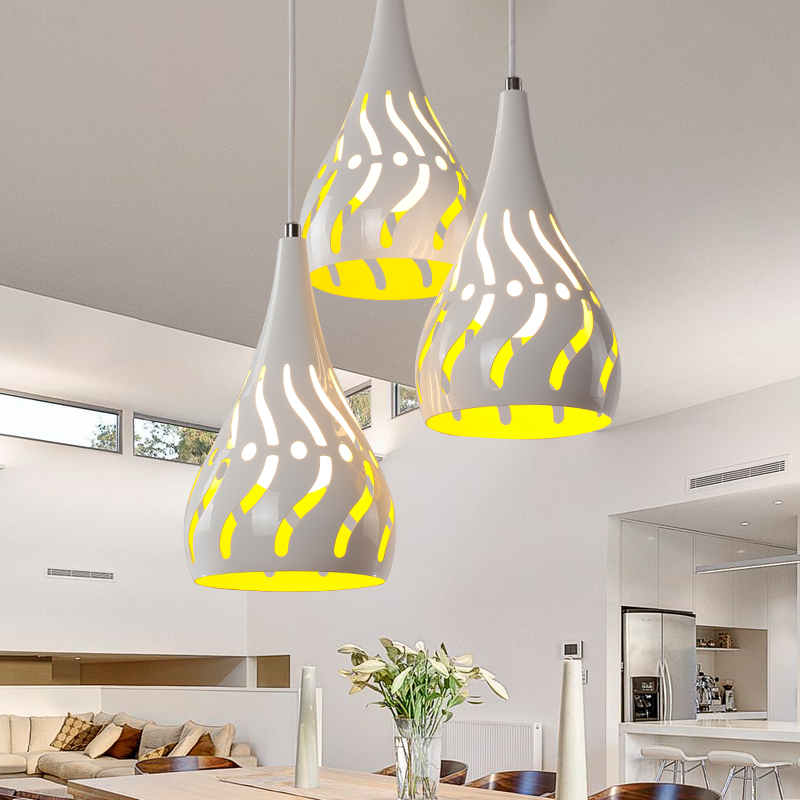 Pendant Lights led restaurant tableware bedroom three Pendant Lights creative personality bar Taiwan romantic romantic  LO7292Pendant Lights led restaurant tableware bedroom three Pendant Lights creative personality bar Taiwan romantic romantic  LO7292