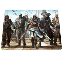 Hot Sell Assassins Creed Printing Pattern Dashion Design Gaming Notebook Computer Mouse Mat Optics Anti-slip Mouse Pad