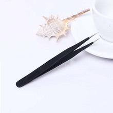 Anti-static stainless steel tweezers for nail tools
