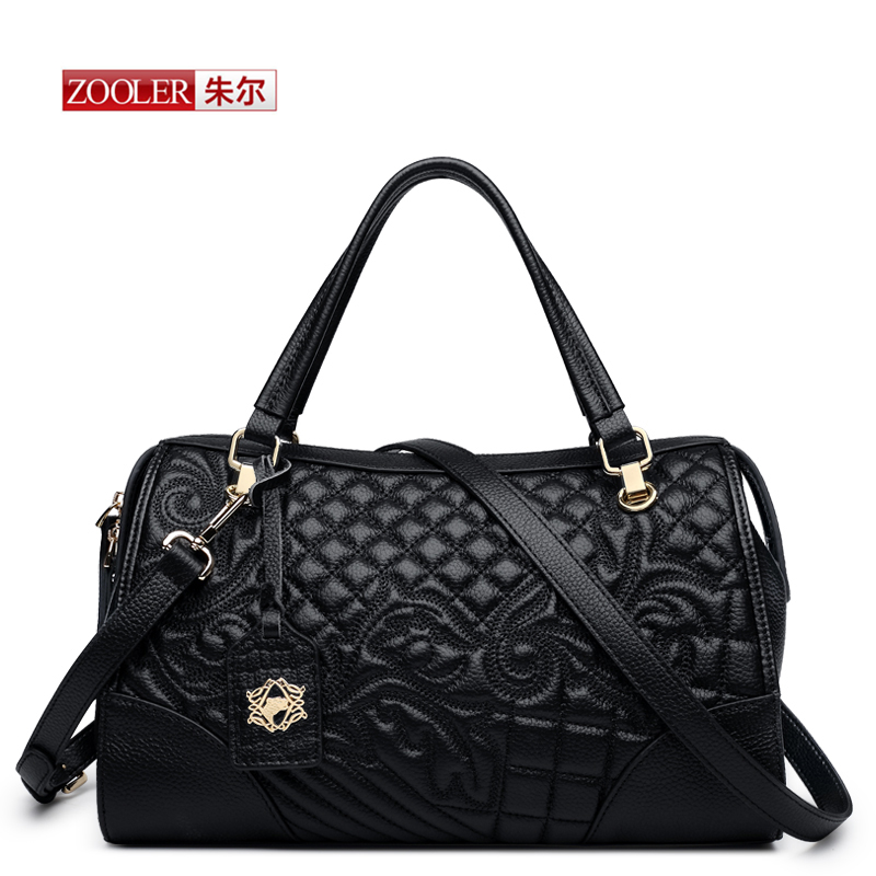 ZOOLER New arrival Genuine leather handbags Large Capacity Tote bags Top-handle Bag Herald Fashion Shoulder ladies bags#BC-8159 hot new arrival vintage tote bag women leather handbags ladies party shoulder bags fashion top handle bags ladies cute bear drop