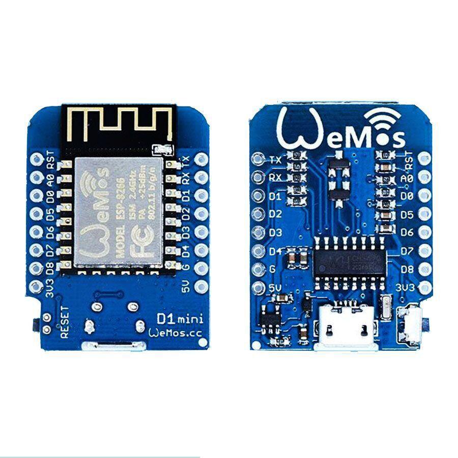 10 pcs/lot D1 Mini V2-Mini pour NodeMcu 4M octets Lua WIFI Internet des choses carte de développement basée ESP8266