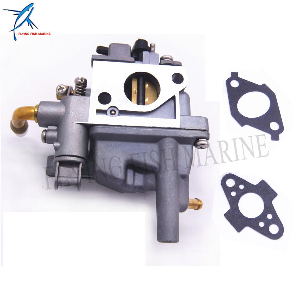Outboard Motor 69M-14301-10 Carburetor Assy and 69M-E3645-A0 69M-E3646-A0 Gasket for Yamaha 4-stroke F2.5 Boat EngineOutboard Motor 69M-14301-10 Carburetor Assy and 69M-E3645-A0 69M-E3646-A0 Gasket for Yamaha 4-stroke F2.5 Boat Engine