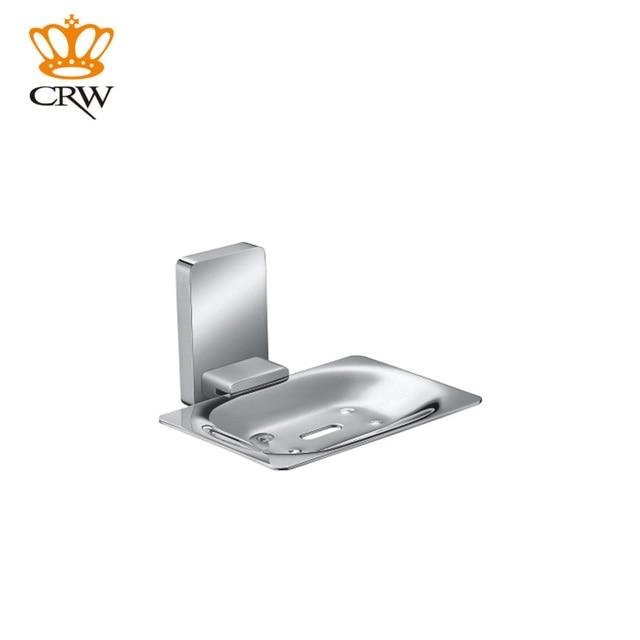 Crw zeepbakje houder wall mount klassieke ontwerp verzinkt rvs ...