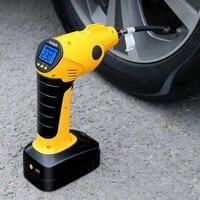 Беспроводной умный автомобиль шины электрический заправка воздушный насос портативный автомобильный нагнетательный насос Бесплатная дос