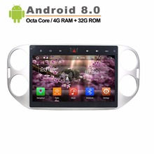 Auto Multimedia Player for Volkswagen VW Tiguan 2013 to 2015 Car Video Player Octa Core Android