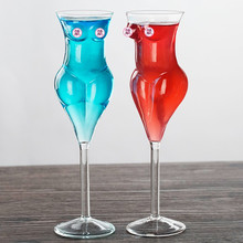 Creative Wine Glass Goblet Sexy Women Shaped Design Cocktail Drinkware for Home Br Party Gift