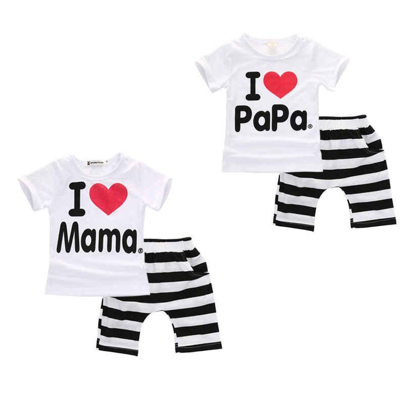 e9a02089cc231 Emmababy New Newborn Infant Twins Baby Boy Girls T-shirt+Pants Outfit  Pajamas Suit 2PCS 0-24M