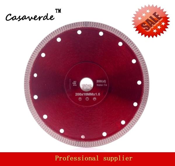 DC-SXSB06 Super Thin 8 Inch 200mm Diamond Ceramic Tile Cutting Blade For Ceramic And Porcelain Tile Cutting