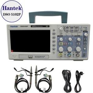 Image 1 - Hantek DSO5102P הדיגיטלי אוסצילוסקופ 100MHz 2 ערוצים 1GSa/s קצב דגימה בזמן אמת USB מארח וקישוריות מכשיר 7 אינץ
