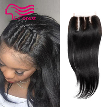 7A Best Virgin Brazilian Closure Straight Brazilian Lace Closure Bleached Knots Closures Virgin Human Hair Closure Free Shipping