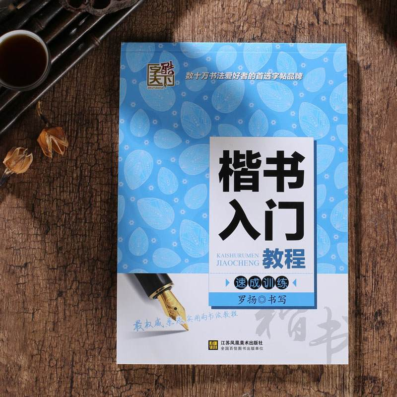 Chinese Art Calligraphy Copybook In Regular Script- Speed-up Practice Learn Chinese For Kids Children Mandarin Hanzi