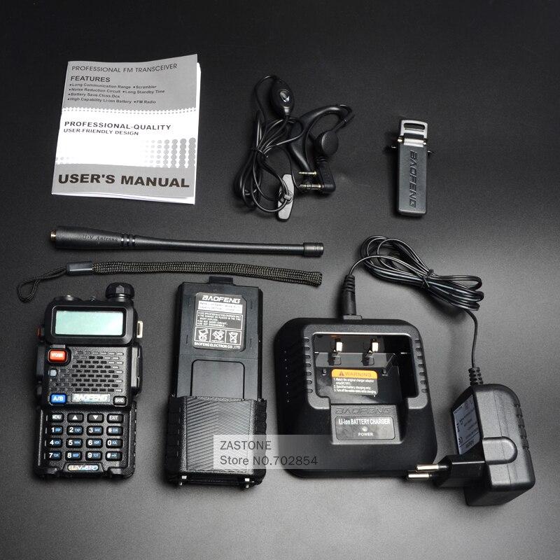 Baofeng UV-5R 3800 Walkie Talkie 5W dvopojasni radio UHF 400-520MHz - Voki-toki - Foto 6