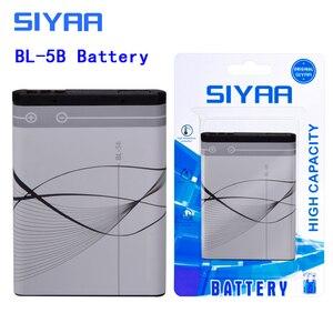 Image 2 - SIYAA Phone Battery BL 4C BL 5C BL 4B BL 5B BL 5J BV 5JW For Nokia 6100 6300 6260 6136S 2630 5070 C2 01 BL 4C BL 5C BL5C Battery