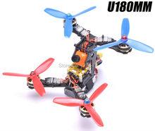 Mini DIY 180 180mm Carbon Fiber Quadcopter frame w 3mm thickness arm for U180 QAV X