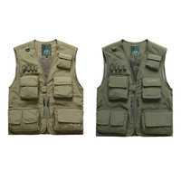 Adult Outdoor Fishing Vest M XXXL Fishing Jacket Polyester Safety Life Vest For Boat Drifting Survival Swimwear Vest