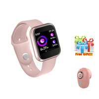 Smart band+Bluetooth earphone/set smart wristband pedometer IP68 waterproof swimming watch for iphone 7 8 x VS IWO 4 5 p68 z40