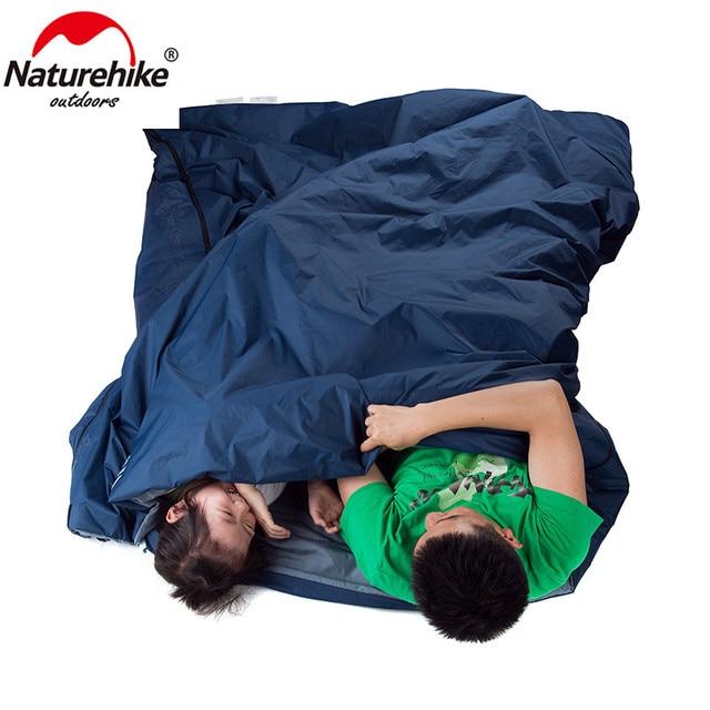 Naturehike 2 Persons Sleeping Bag Camping Hiking 6