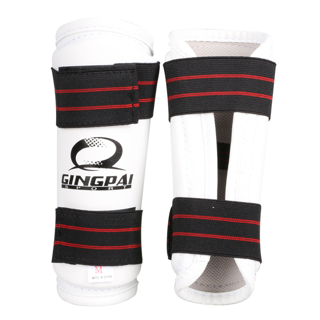 Taekwondo Shin & Arm Professional Guard Boxing Protector Sparring Gear WTF CE Comfortable Absorb Sweat 4 piece/Pack Fight Winner 1