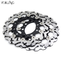 New Style 2 Pieces Motorcycle Front Brake Discs Rotor For YAMAHA YZF R6 2005 2006 2007