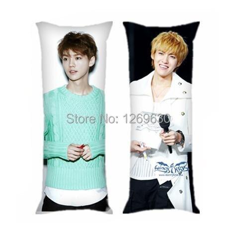 EXO M LUHAN Se Hun Kris boyfriend Korean hot long pillow ...