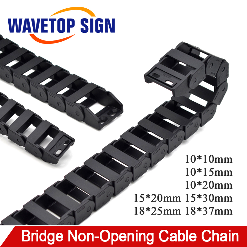 uxcell Drag Chain End Connector for 15x20mm Cable Carrier Chain Drag Chain Joints 20 Sets