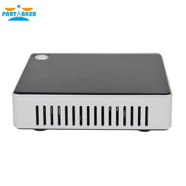 Partaker Desktop Mini Computer With Intel Atom Z3735F Bluetooth 4.0 Turbo Boost Technology up to 1.83 GHz Intel HD Graphics