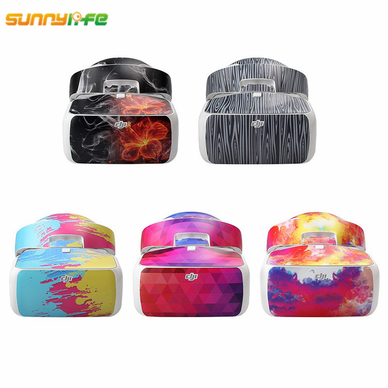 Sunnylife DJI Goggles Drone Camera FPV Protective Sticker Colorful Protection Skin for DJI Goggles Glasses font