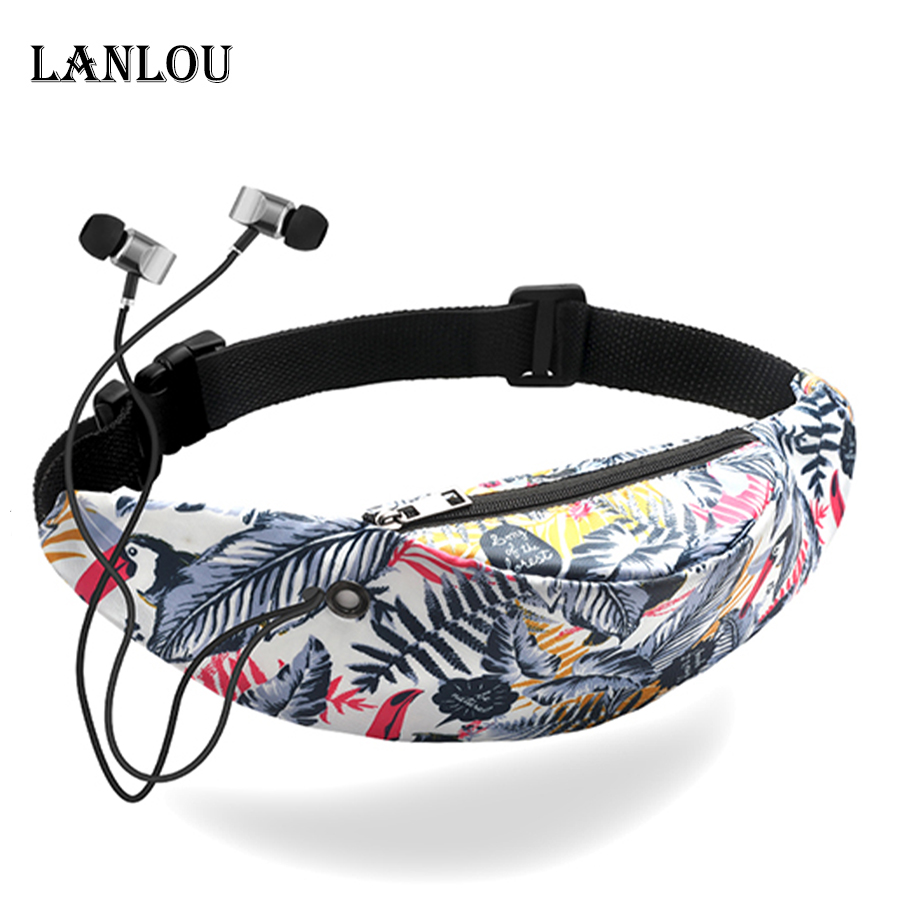Fashion Women Waist Bags High-grade Girls Fanny Packs Hip Belt Bags Money Travelling Sports Mountaineering Bag Mobile Phone Bags