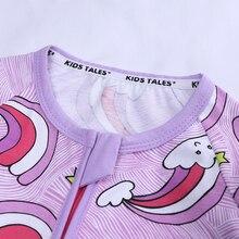 Opowieści dla dzieci marka Baby Girl pajacyki 3 sztuk z długim rękawem słodkie kwiatowy ubranka dla chłopców noworodków maluch jumpersuits w wieku 0 2 ubranko niemowlęce BBR2252