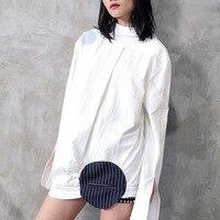 Runway Women Blouse Shirt Top 2018 Korean Spring Long Sleeve Women Office Summer Elegant White Blouses