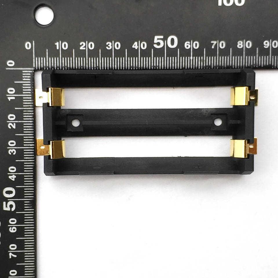 2X18650 Supporto Della Batteria Smd Smt di Alta Qualità Contenitore di Batteria con Il Bronzo Spilli TBH-18650-2C-SMT