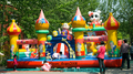 2016 New commercial inflatable slide /outdoor amusement park inflatable jumping bouncer for sale