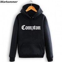 Compton Greatest Rap Men Hoodies Sweatshirt Soft Fleece Hip Hop Tracksuit Plus Pullover Coat Fur Fleece