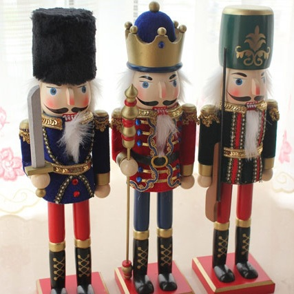 clearance sale zakka grocery authentic home craft house crafts wood craft flannel large 38cm nutcracker puppet soldiers on aliexpresscom alibaba group