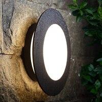 Dış aydınlatma duvar lambaları sundurma modern led ışık açık bahçe lambası dış aydınlatma su geçirmez lamba alüminyum sanayi