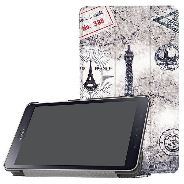 Printed cove case for Samsung Galaxy Tab A 8.0 T380 T385 (2017 new released) 8.0 inch SM-T380 T385 protective cover...  samsung tab a 8.0 case | Galaxy tab A 8.0 flip / book snap on cover [official/original] Printed cove font b case b font for font b Samsung b font Galaxy font b
