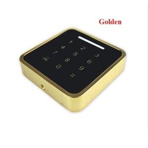 Image 3 - 13.56mhz /125KHzMetal Rfid Tastiera di Controllo di Accesso di Supporto 3000 Utenti ID Card Reader Elettrico Digitale Password Serratura Della Porta