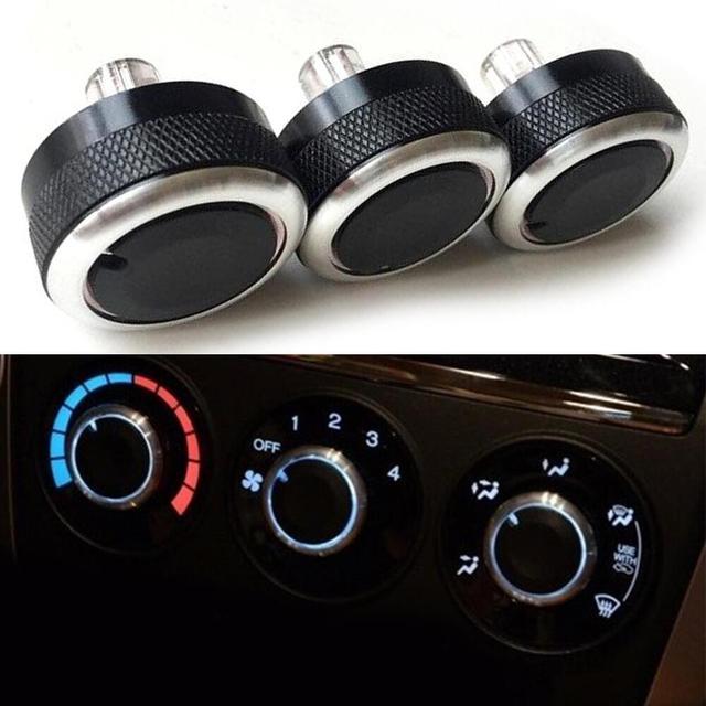 car styling heat control knob car air conditioning knob ac knob